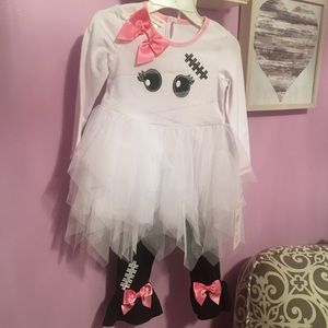 Brand new super cute little girls ghost outfit!